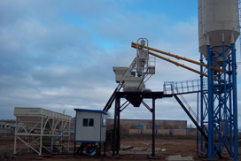 AJ35 Concrete Batching Plant Exported To Russia