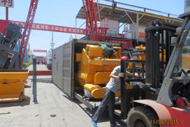 JS750 Concrete Mixer Was Exported To Burma
