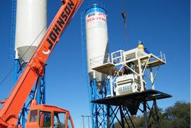 AJ60 Concrete Mixing Plant in Botswana