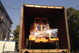Diesel Concrete Mixer Was Sent To Thailand