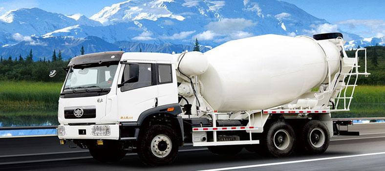 concrete trucks