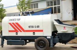 Diesel Tralier Concrete Pump XHBT-50SR