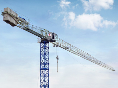 Flat-top-tower-cranes