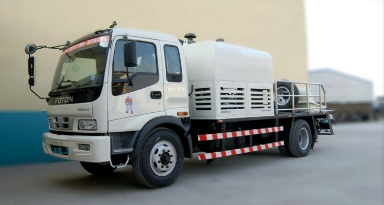 Truck Mounted concrete pump01