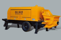 electric trailer concrete pump01
