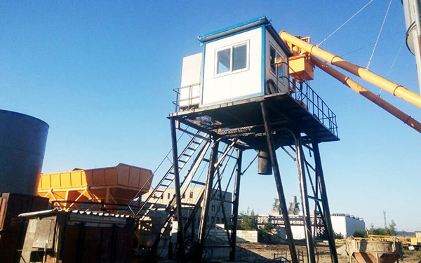 HZS-concrete-batch-plant-was-sent-to-Russia