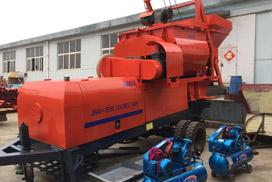 Aimix JBS40-JS750 Concrete Mixer Pump Has Been Shipped to Indonesia