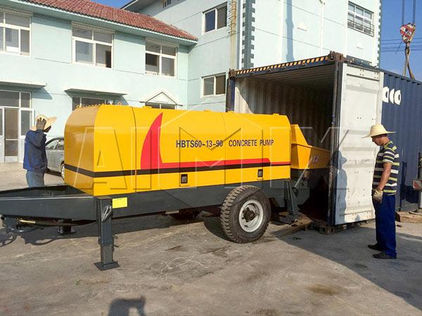 AIMIX-HBTS60-Diesel-Concrete-Pump-for-Exporting