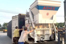 JS750 Concrete Mixer & HBTS60 Diesel Concrete Pump were Delivered to Russia