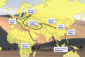 """Welcome National Delegates From 78 """"One Belt, One Road"""" Countries To Visit Our Factory"""