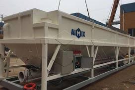 Aimix Horizontal Cement Silo Was Shipped to Australia