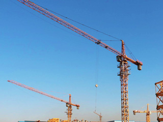 Tower Crane For Sale Aimix Concrete Batching Plant