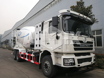 4 Sets of Aimix Concrete Mixer Truck Was Sent To Uzi January 2019