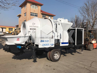 Aimix Diesel Concrete Mixer Pump Was Sent To Ecuador