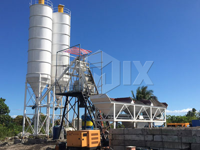 Aimix HZS50 Concrete Batching Plant Installed In Philippines 2019