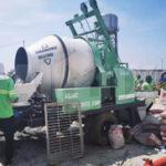 Aimix Diesel Concrete Mixer Pump In Cavite Philippines