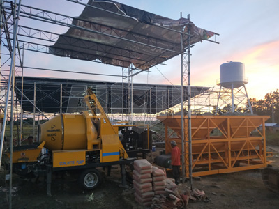 concrete mixer pump in Philippines