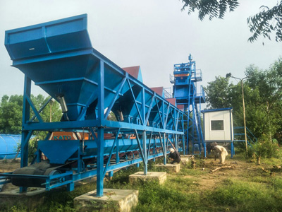 Aimix AJ50 Concrete Batching Plant in Pakistan