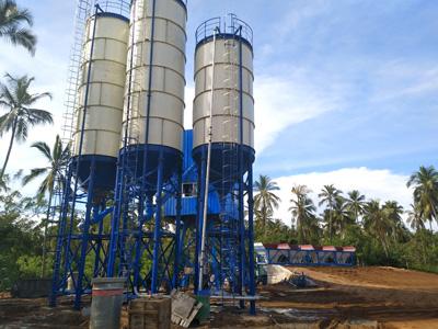 Aimix AJ60 Concrete Mixing Plant in Sri Lanka