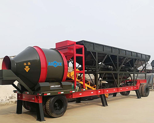 New Type Mobile Batching Plant