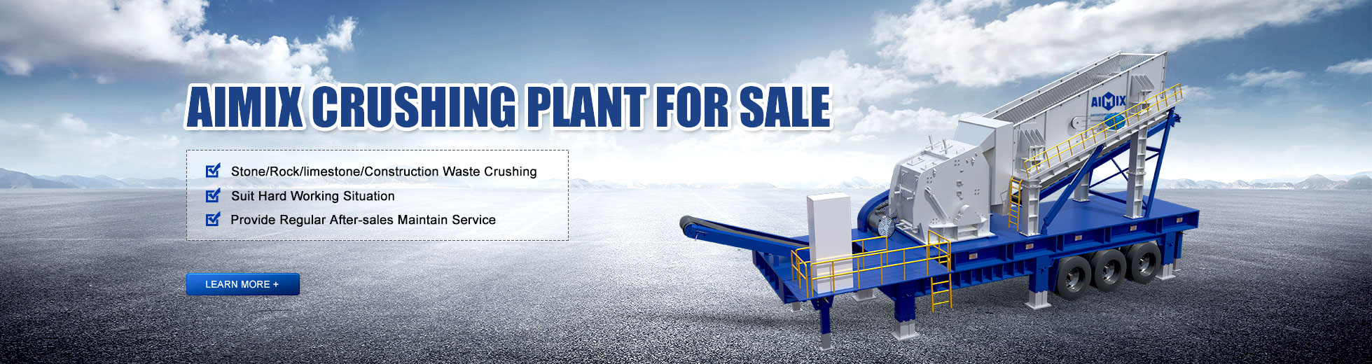 Aimix Crusher Plant For Sale