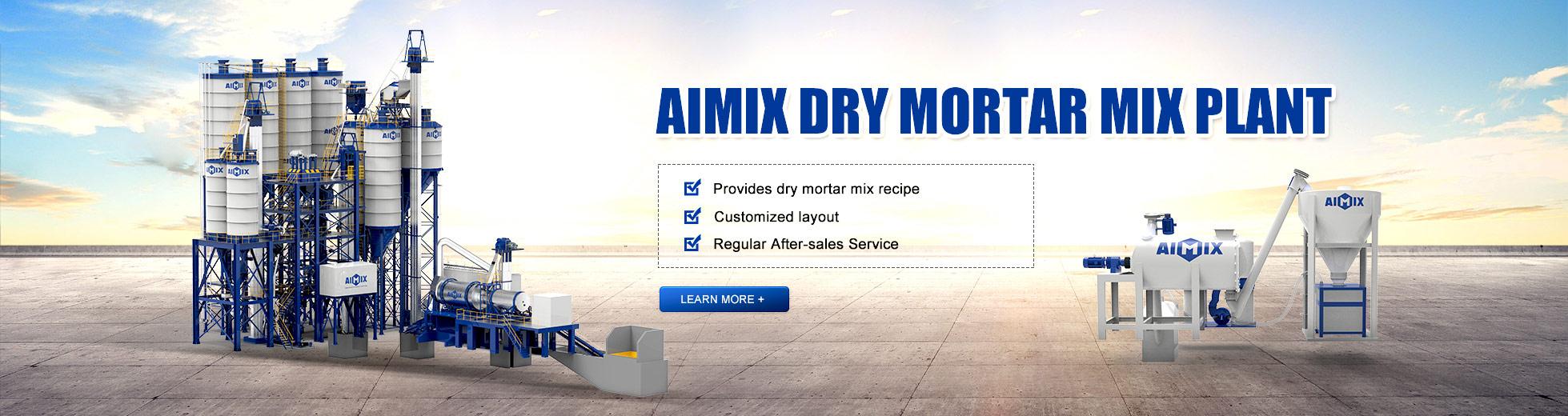 Aimix Dry Mix Mortar Plant
