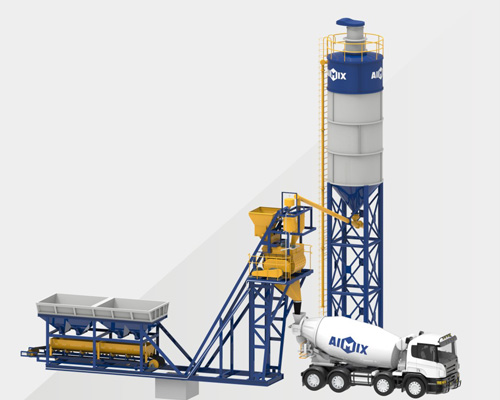 Aimix Foundation Free Concrete Batching Plant