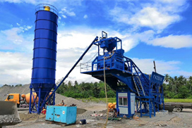 AJY35 Concrete Batching Plant in Philippines