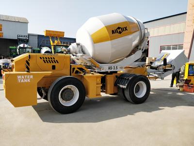 3.5 cbm self loading concrete mixer