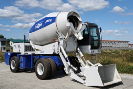 Self loading concrete mixers in Philippines