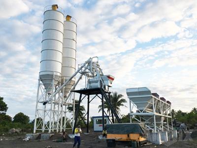 AJ50 concrete batching plant for sale