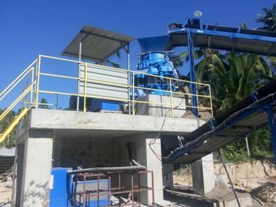 Aimix 250t/h Crusher Plant in Sri Lanka