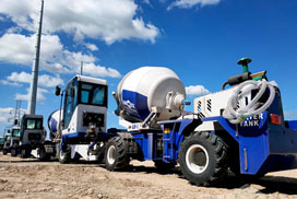Aimix Self Loading Concrete Mixer Was Shipped to Philippines