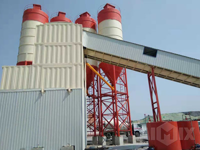 Container type concrete batching plant