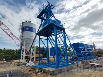 Foundation-free Concrete Mixing Plant