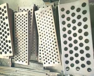 High manganese sieve bottom