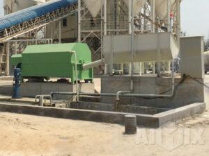concrete recycling machine