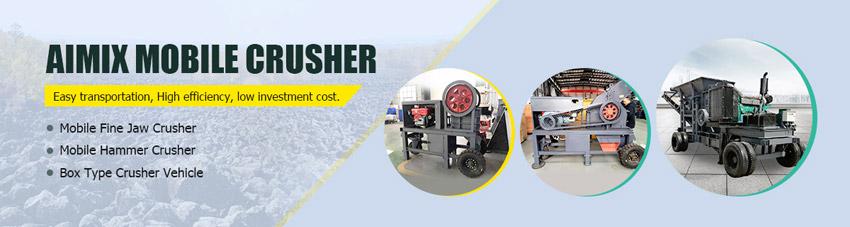 mobile crusher machine banner