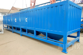 50 T Horizontal Cement Silo Was Transported to Malaysia