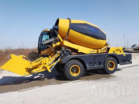 Aimix 4.0 Cum Self Loading Concrete Mixer in Kenya