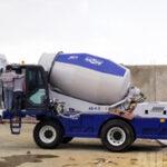 Aimix Concrete Trailer Pump Self Loading Concrete Mixer