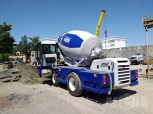 Aimix Concrete Trailer Pump & Self Loading Concrete Mixer In Uzbekistan