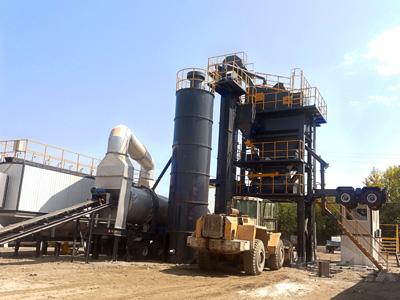 ALYQ mobile asphalt mixing plant