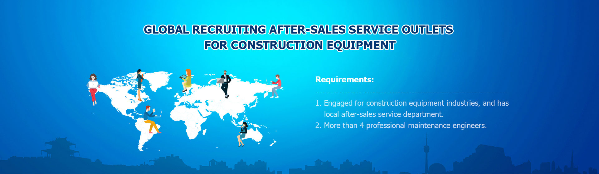 After-Sales Service Outlets recruitment