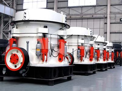 Multi-cylinder Hydraulic Cone Stone Crusher