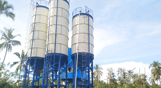 bolted cement silos