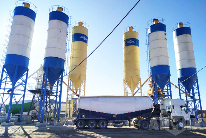 welded cement silos in Uzi