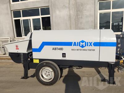 ABT40D electric concrete trailer pump