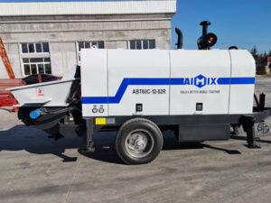 ABT60C diesel concrete trailer pump
