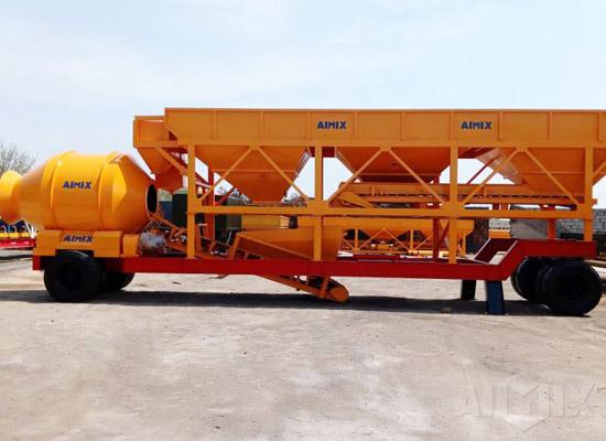 AJY-60 Portable Concrete Plant